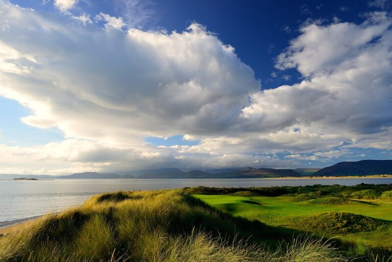 Irish Golf Tours Dooks Golf Club along Wild Atlantic Way in Ireland