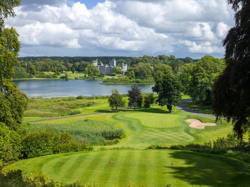 Amazing view from Dromolands Golf Course as part of your golfing trip around Ireland