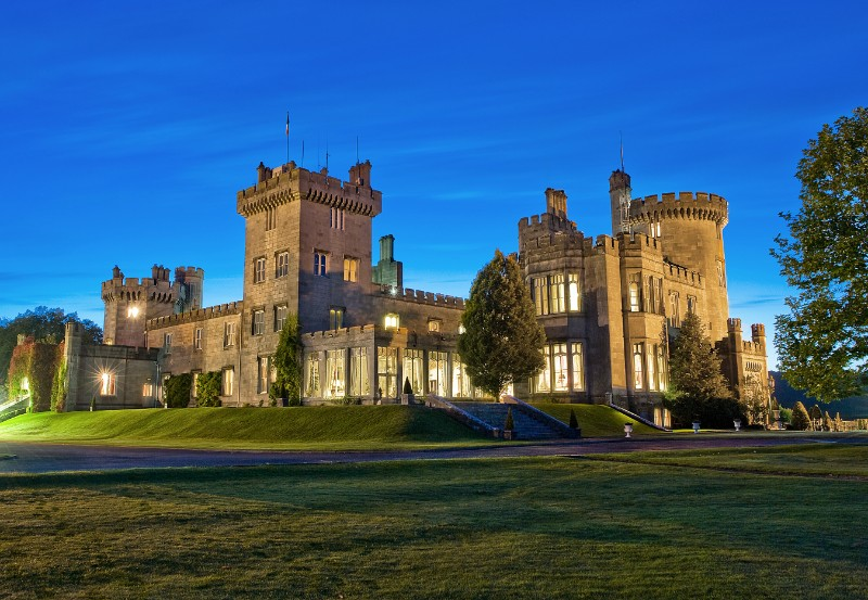 Dromoland Castle one of the luxury accommodation options available on our golf vacations
