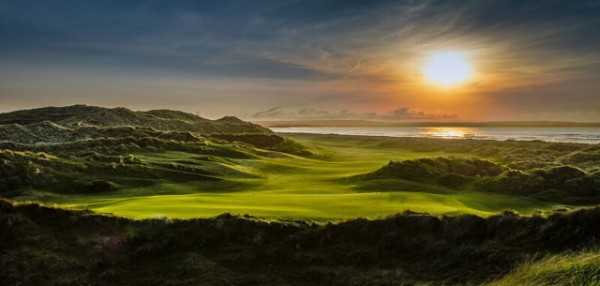 Hole 16 of 18 Great Holes on Wild Atlantic Way Golf Tours