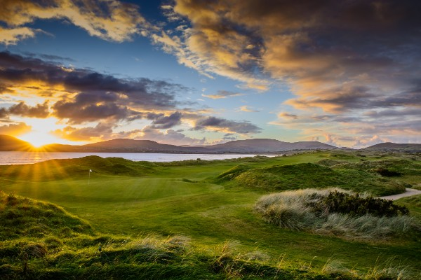 Hole 18 of 18 Great Holes on Wild Atlantic Way Golf Tours