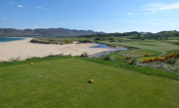 Hole 2 of 18 Great Holes on Wild Atlantic Way Golf Tours