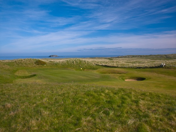 Hole 5 of 18 Great Holes on Wild Atlantic Way Golf Tours