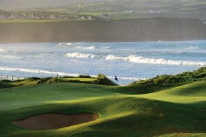 Hole 6 of 18 Great Holes on Wild Atlantic Way Golf Tours - Home to 2019 Irish Open