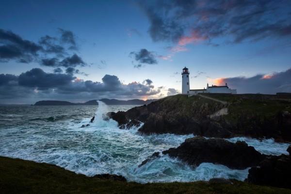 Fanad Lighthouse on Wild Atlantic Way Ireland