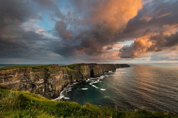 Cliffs of Moher Clare on Wild Atlantic Way Ireland